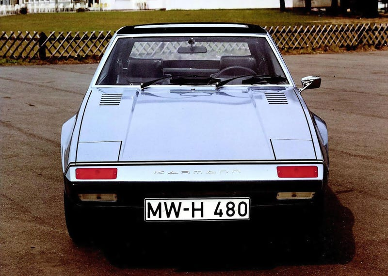 This Is Not A Fiat X1/9 By Bertone