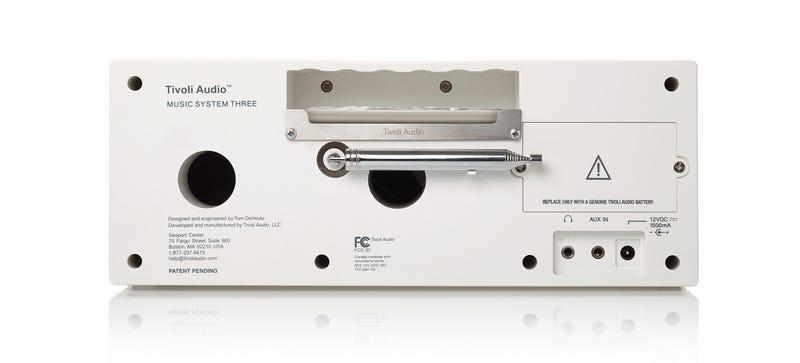 Tivoli's Music System Three Is Portable, Bluetooth, and Beautiful