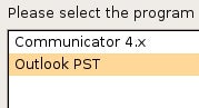 Import Outlook PST Files into Thunderbird with PST Import