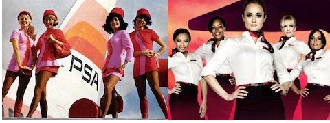 Virgin America's Fly Girls Live The Airborne Dream