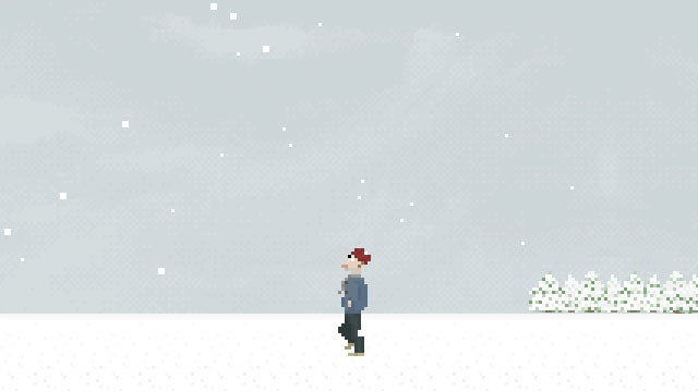 A Musical Video Game About Catching Snowflakes With Your Tongue