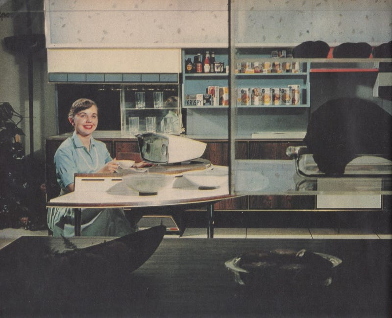 "The 1950s ""Miracle Kitchen"" of the Future Had Its Own Roomba"