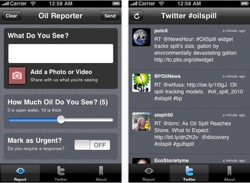 Oil Reporter App Makes Sure No Toxic Sludge Goes Unnoticed