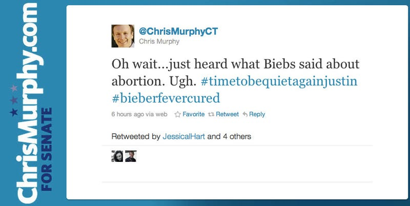 Congressman Wishes He Did Not Tweet About Bieber