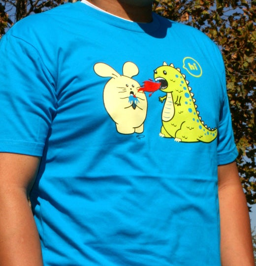 Celebrate the season with t-shirts that make your friends' chests fun to look at