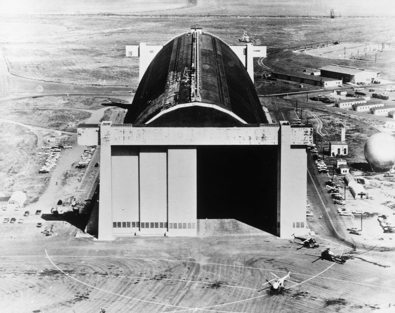 These Massive Hangars in Orange County Once Housed WWII Airships