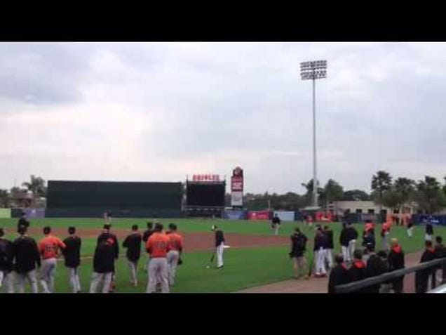 Orioles Augment Drills With Fake Crowd Noise; Neighbors Call Th…