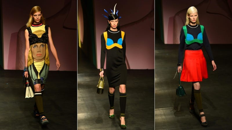 Prada: For the Kickass Feminist (Who Wears Bras as Outerwear) in You