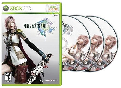 Yup, Final Fantasy XIII Is Coming On Three Discs