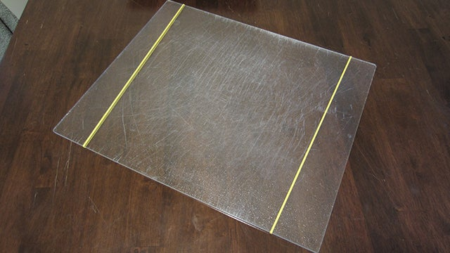 Stabilize a Cutting Board with Rubber Bands