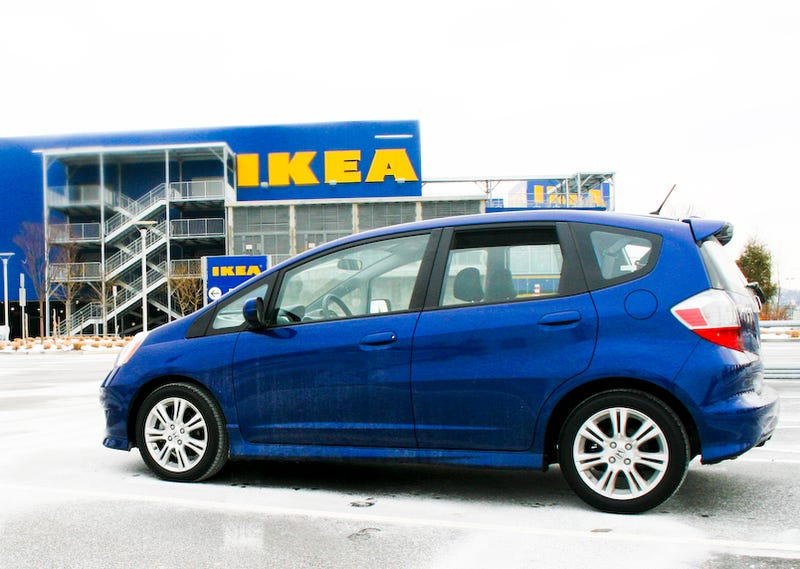 2009 Honda Fit Sport, Part Two
