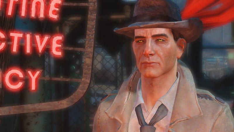 fallout 4 mod upgrades nick valentine to a gen 3 synth kotaku uk