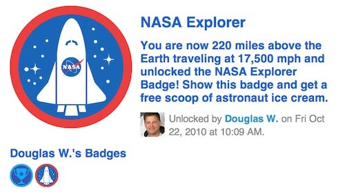 One Overshare-y Step for Man: Astronaut Checks Into Space on Foursquare
