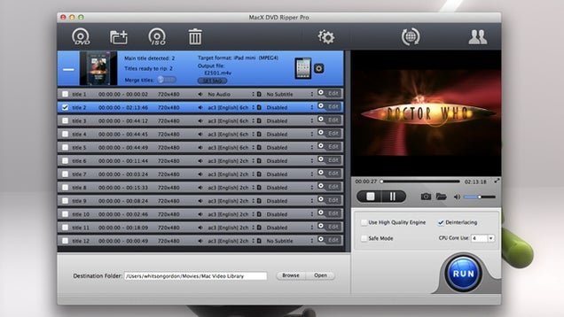 MacX and WinX DVD Ripper Pro Make Ripping Easier for the Less Tech Savvy, Are Free All Month
