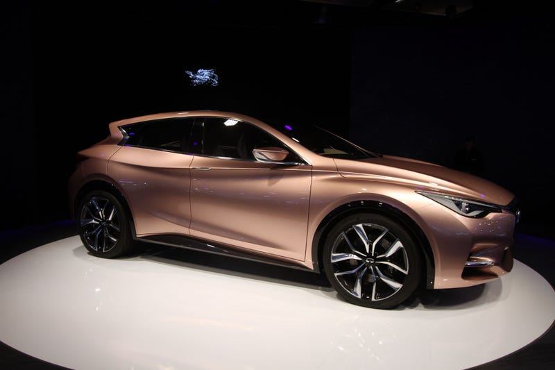 The Infiniti Q30 Swoopily Blurs The Lines Between Car And Crossover