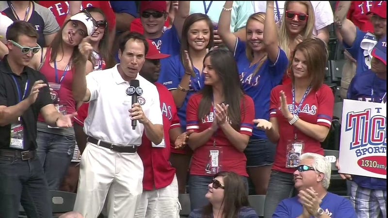 This Texas Rangers Fan Can Do Amazing Things With Her Mouth