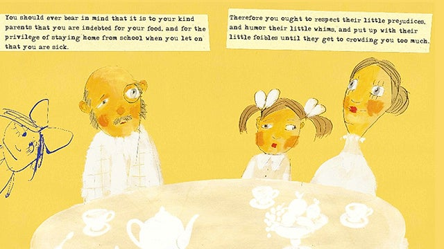 Mark Twain's Illustrated Advice to Little Girls