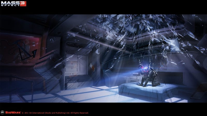 This Wonderful Mass Effect 3 Art is Full of GIANT SPOILERS