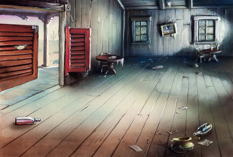26 Stunning Cartoon Backdrops That Deserve To Be Hung on a Wall