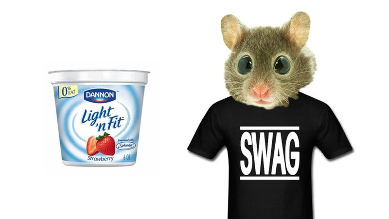 Mice Grow Massive Testicles by Eating Yogurt