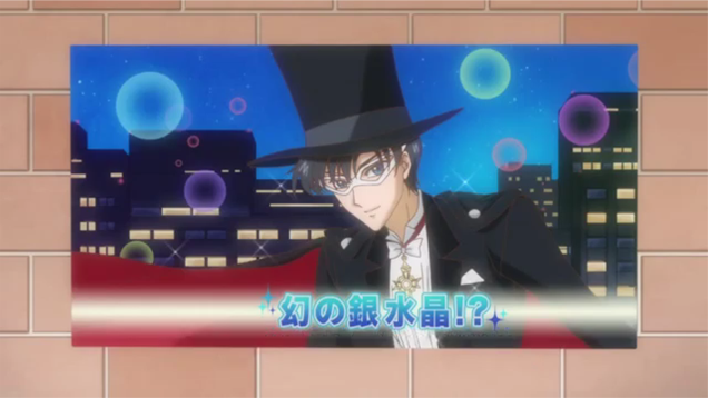 Tuxedo Mask finally does something on Sailor Moon Crystal