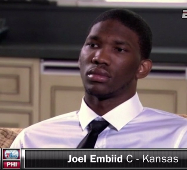 Joel Embiid Was Clearly On A Satellite Delay, But This Is Still Amusing