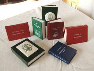 Here's A Big Collection Of Some Very Small Books