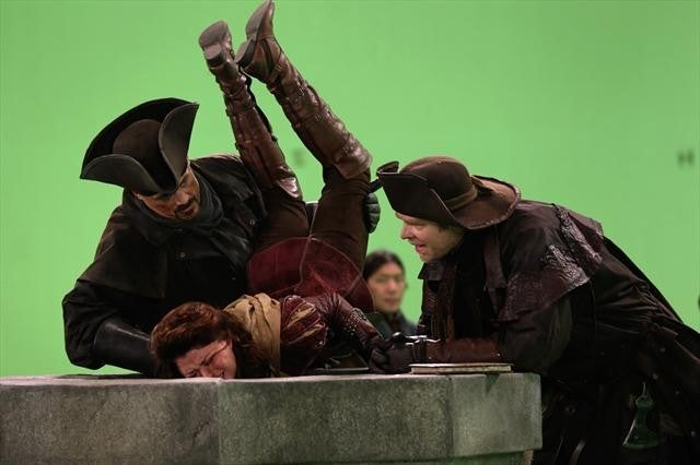 Once Upon a Time Episode 2.11 Behind the Scenes