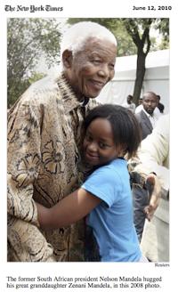 Nelson Mandela's Great Granddaughter Killed After World Cup Concert