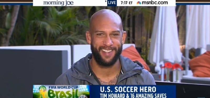 Tim Howard Is an Impenetrable Force of Bearded Hotness