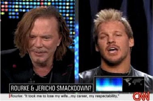 Could Mickey Rourke's New 'Wrestlemania' Gig Cost Him An Oscar?