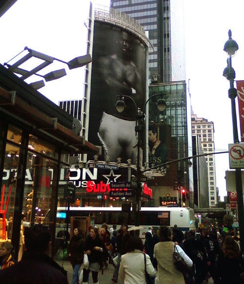 Adrian Peterson's Crotch Welcomes You To New York