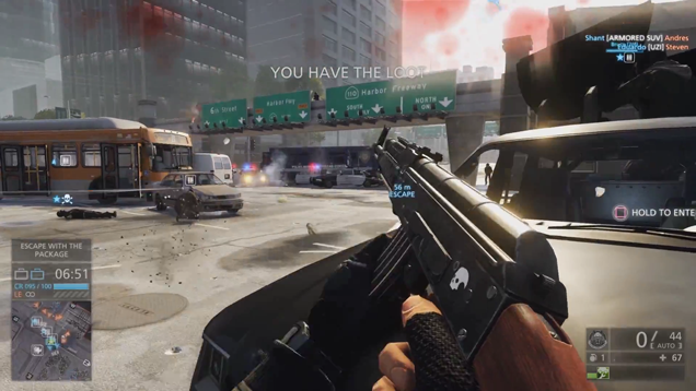 Can't Get Into The Battlefield: Hardline Beta? Watch It Instead.