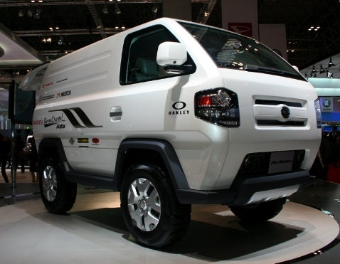 Tokyo Motor Show: Daihatsu Mud Master-C Concept