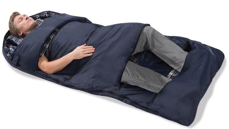 Customizable Sleeping Bag Lets You Peel Back Layers to Stay Cool