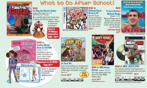 Scholastic Called Out For Selling Games in Schools