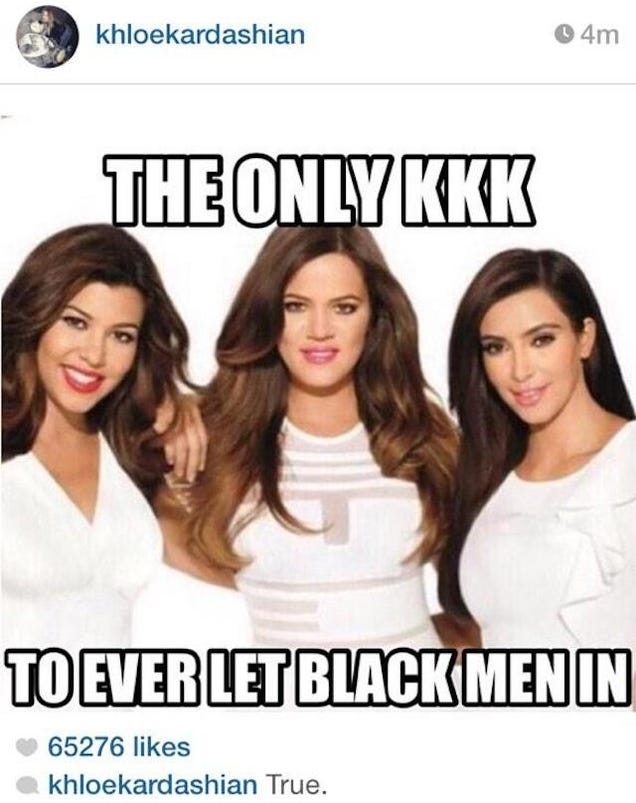 Kardashian dating black men