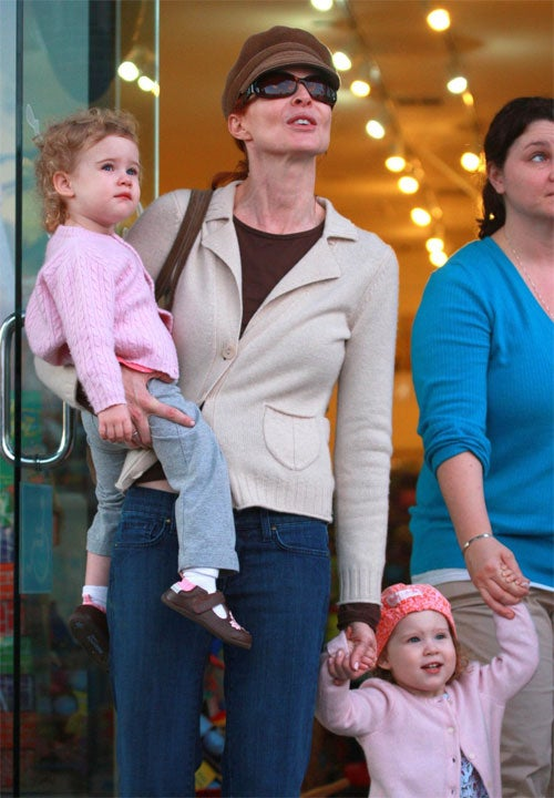 Marcia Cross & Kids Are Seeing Stars