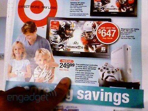 Next Week's Target Ad Confirms $250 Xbox 360 Pro? UPDATE