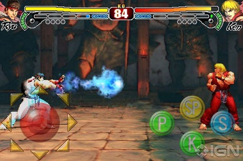 Street Fighter IV Brings The Fight To The iPhone