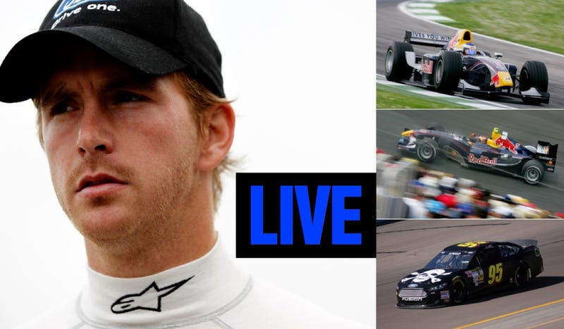 Ask Formula One Driver And NASCAR Racer Scott Speed Anything You Want