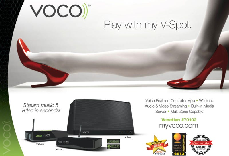 Tech Company Asks CES Goers to 'Play With My V Spot""
