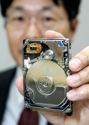 Hitachi to Release Terabyte Hard Drive This Year