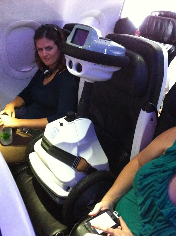 At Least the Robot Isn't Flying the Plane