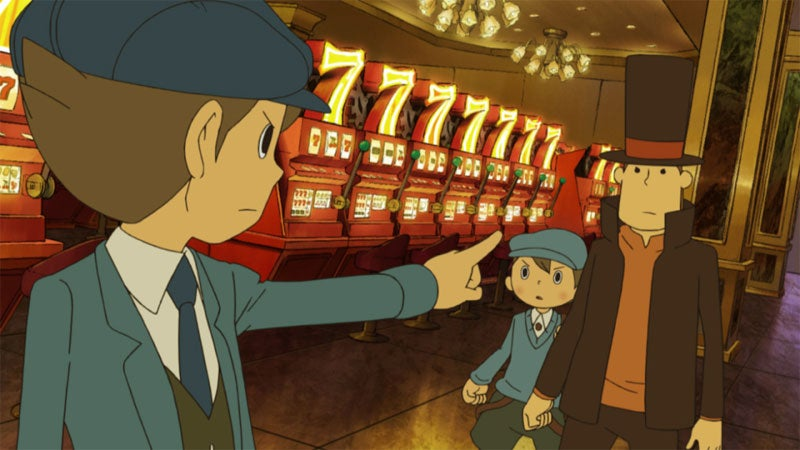 Professor Layton and the Unwound Future Review: Riddle Me This