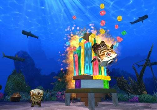 Boom Blox Bash Party Preview: Slingshots Ahoy