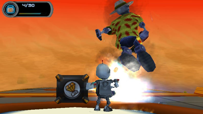 Here's Secret Agent Clank On The PS2