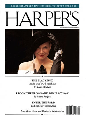 The Harper's (Bazaar) Index: December 2007