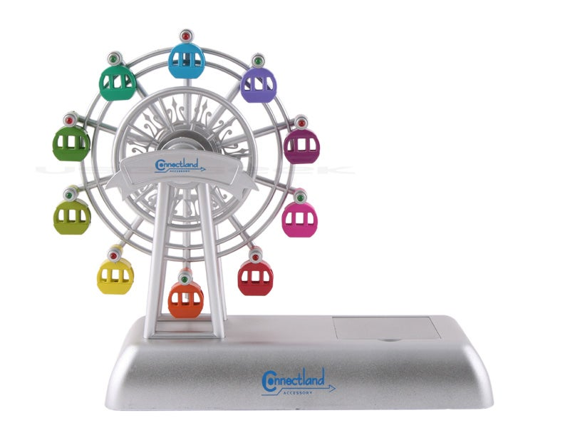 USB Ferris Wheel Phone Stand Instead of a Ringtone?