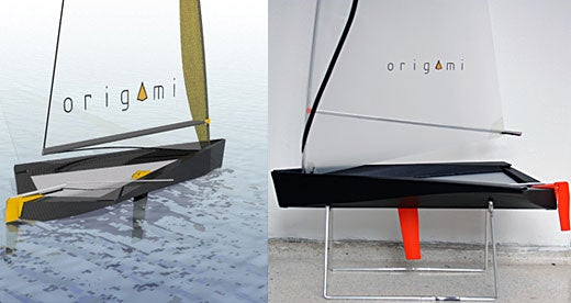 Origami Sailboat: Origami's Not Just For Lame PCs